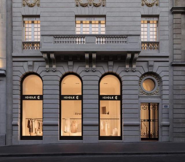 澳门金沙网站app:上海之禾旗下女装ICICLE 首家海外旗舰店落户巴黎