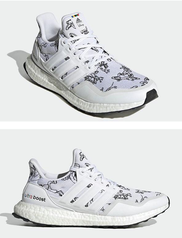"""迪士尼 x adidas 联名高飞主题 Ultraboost""""Goofy""""鞋款系列欣赏"""