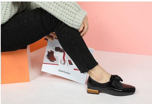 丹比奴女鞋:用最简单的款式,展现最立体的美感