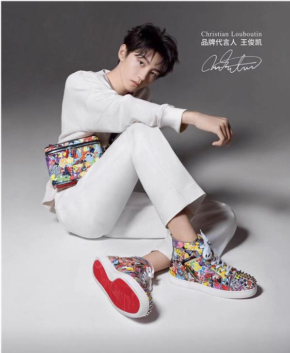 """《【奇亿在线娱乐注册】王俊凯成""""红底鞋""""首位代言人,CL看好中国年轻市场》"""