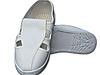 防静电四孔鞋|革面四孔鞋