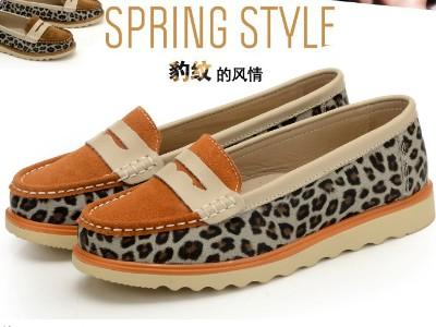 2013年秋季新款豹纹女鞋