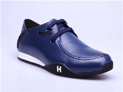 甲尔申时尚运动皮鞋-2015新款男单皮鞋