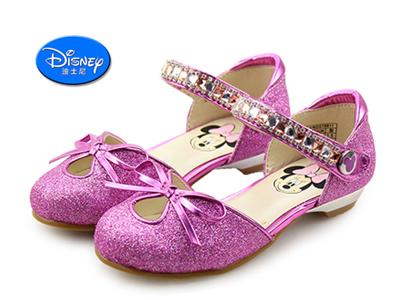 2015迪士尼米妮女童时装鞋
