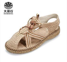 大漠行麻鞋