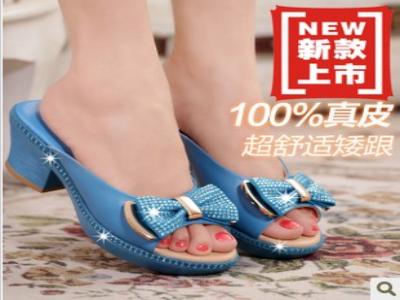 时尚真皮女鞋 品牌女凉鞋 个性时尚女鞋 古珂兰