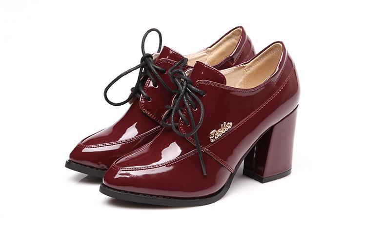 新品抢购!厂家特价促销 时尚气质 前系带女式 棉靴 女靴5081