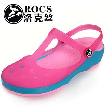 大量出售ROCS花园鞋沙滩鞋水晶拖鞋13790528552