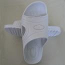 防静电SPU拖鞋,白色,一体成型
