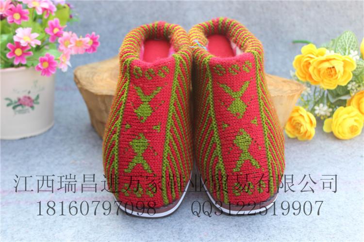 男女毛线包根拖鞋生产厂家及公司批发