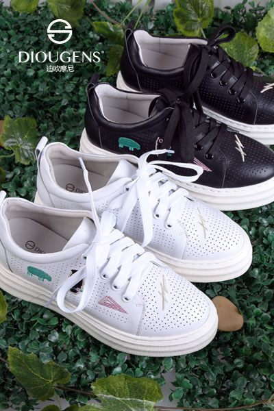 迪欧摩尼小白鞋,让你回忆起年青的不羁岁月