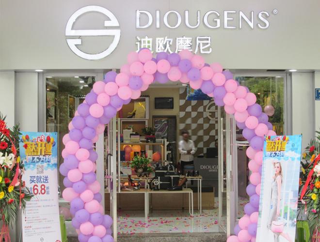 迪欧摩尼女鞋品牌专卖店加盟 备受投资商的青睐