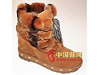 玛丽嘉儿2013秋冬款时尚女鞋上市 新款休闲雪地靴