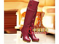 沃格秋冬女鞋系列 时尚长靴
