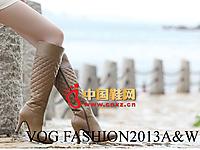 沃格秋冬女鞋系列 时尚高跟长靴