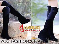 沃格秋冬女鞋系列 时尚休闲长靴