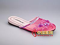 捷足�r尚拖鞋2013新款上市 卡莎琳拖鞋