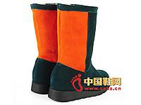诺情莱思2014新款时尚休闲拼色雪地靴