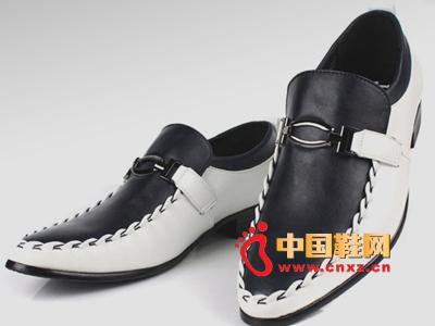 沃格2014春季新款男鞋 商务皮鞋