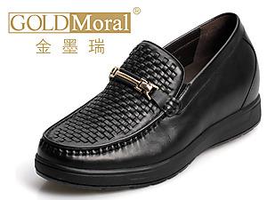 金墨瑞2014春夏男士皮鞋内增高新款上市