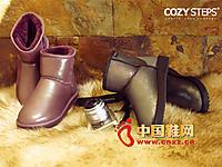 COZY STEPS/蔻孜2014新款女鞋 时尚经典款雪地靴