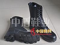 中盾ZD-034全皮作战靴
