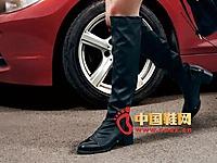依思Q2014秋冬新款女鞋上市 时尚高靴