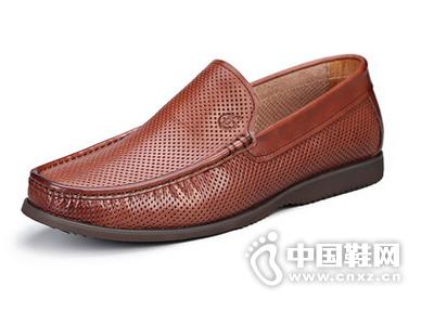 kaiser凯撒男鞋2015夏季新品真皮男士英伦时尚休闲镂空透气皮鞋男
