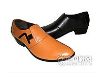 创一者尖头绅士皮鞋简约百搭商务皮鞋正品品牌男鞋