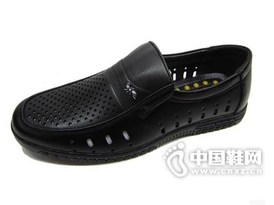 红蚂蚁夏新款男式凉鞋男士皮鞋透气鞋子洞洞鞋商务休闲男鞋