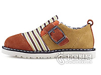 杰米熊男童鞋2015新款潮鞋真皮防滑户外鞋运动鞋