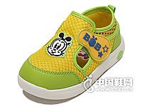 巴布豆2015新款童鞋儿童休闲运动鞋