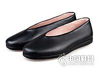 老美华男士春秋传统牛皮鞋 休闲男全真皮鞋