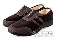 老美华 秋季休闲爸爸鞋 男 老北京布鞋 男鞋子 单鞋低帮鞋