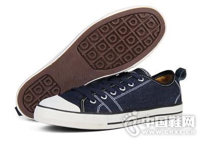 足下登新款休闲鞋透气经典低帮男鞋板鞋潮流韩版运动鞋帆布鞋