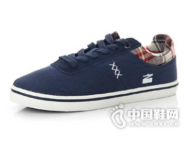 足下登 男士帆布鞋透气低帮系带鞋休闲男鞋学生鞋韩版板鞋单鞋