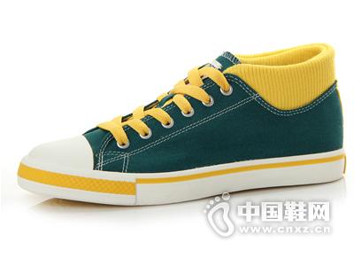 足下登休闲鞋男鞋韩版运动潮流牛仔高帮帆布鞋男女布鞋板鞋街舞鞋