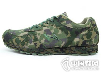 海尔斯迷彩鞋军绿马拉松鞋减震防滑训练运动慢跑步数码迷彩鞋