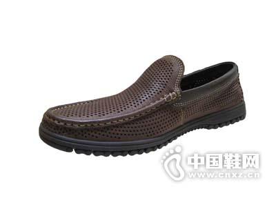 蚂蚁城ANTCITY2015款打孔商务休闲男鞋套脚平底柔软舒适