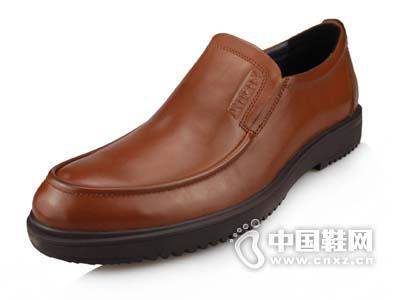 蚂蚁城男鞋2015新款日常商务休闲舒适真皮皮鞋