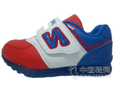 酷丁童鞋正品2015年春季新款男女童小童运动鞋带闪灯