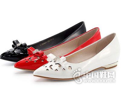 哈森时尚女鞋2016新款产品