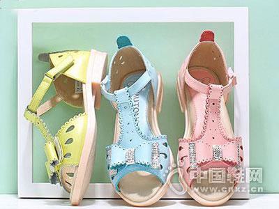 牧童童鞋2016新款女童凉鞋