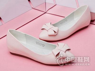 华耐女鞋2016新款平底鞋