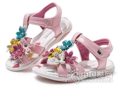 木木屋童鞋2016新款女童凉鞋