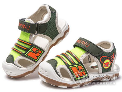 木木屋童鞋2016新款男童机能鞋