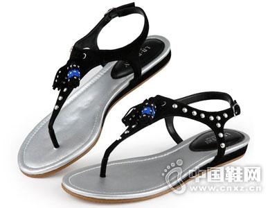 左右缤纷时尚女鞋2016凉鞋新品