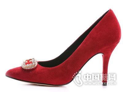 左右缤纷时尚女鞋2016单鞋新品