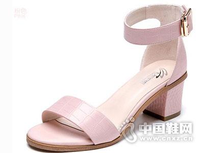 美丽佳人时尚女鞋2016新款凉鞋