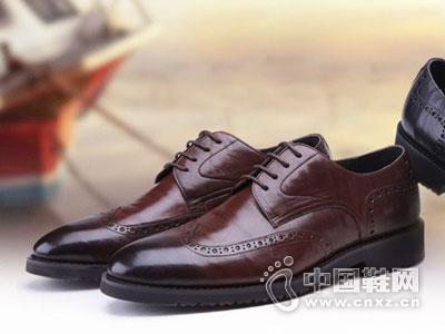沙驰男鞋2016皮鞋新款